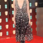 Emma Stone arrives for the British Academy of Film and Television Awards (BAFTA) at the Royal Albert Hall in London