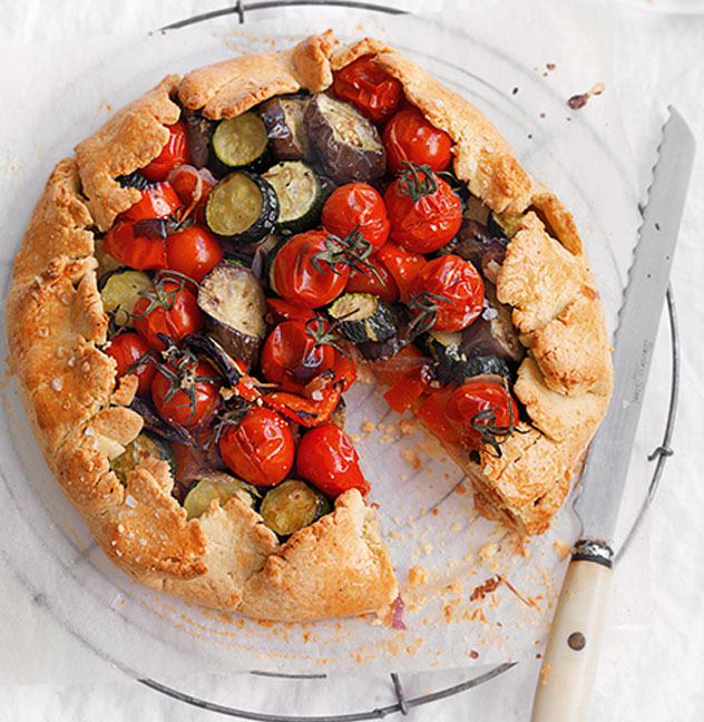 Mediterranean Vegetable Pie | MiNDFOOD Recipes