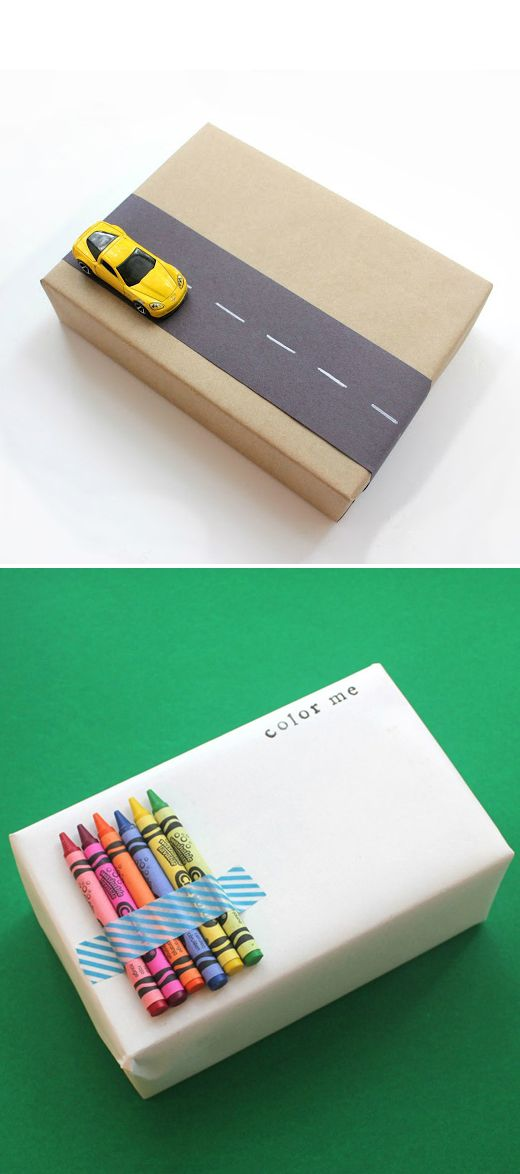 Kids will love these fun, interactive twists. Get creative with pre-loved toy cars or cheap crayon sets. From parentinghealthybabies.com