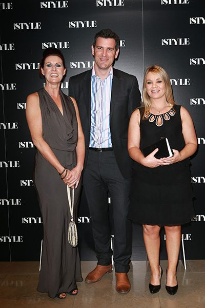 MiNDFOOD Style sales team Karey Walker, Howard John and Catherine Ribiere.