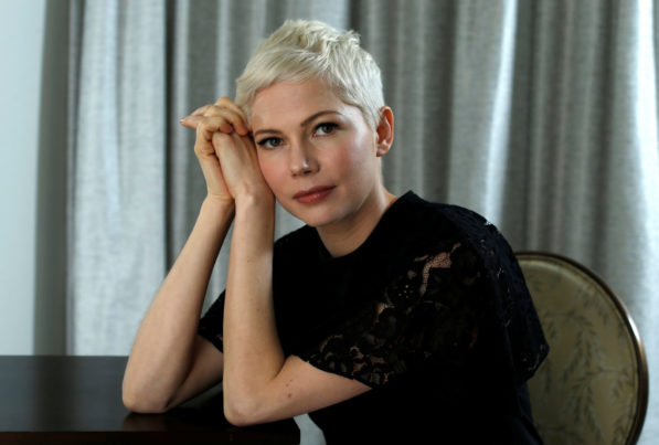 Michelle Williams women wear black times up