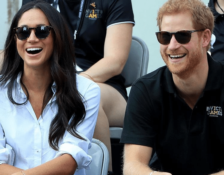 Meghan Markle Prince Harry first public appearance