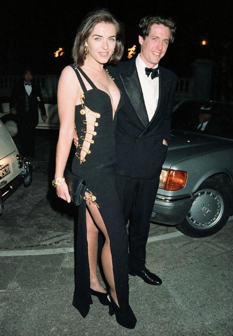 Elizabeth hurley Hugh Grant Versace dress