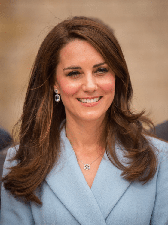kate middleton duchess of cambridge hair charity
