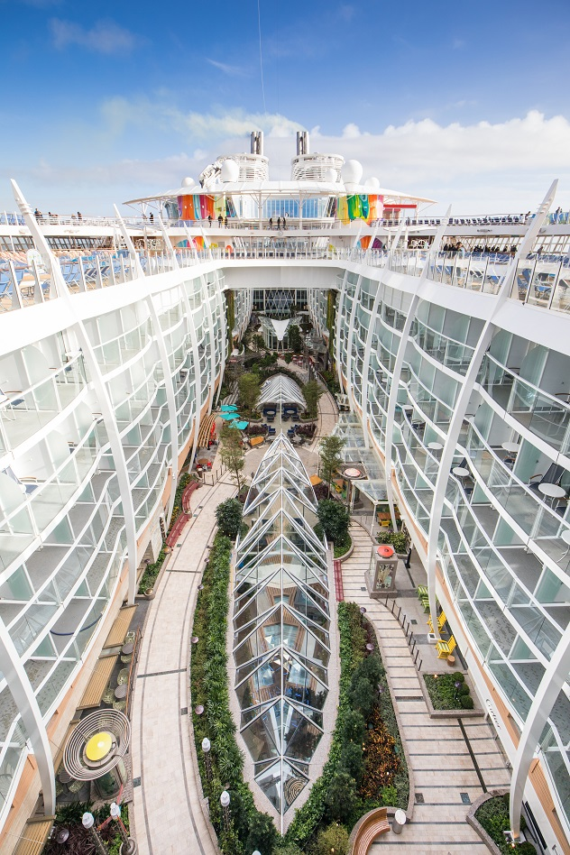 The worlds largest cruise ship - Symphony of the Seas