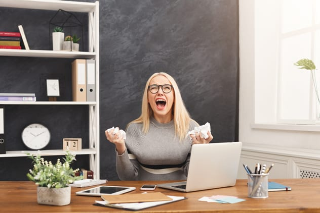 We've all been there - especially on a Monday morning. ISTOCK