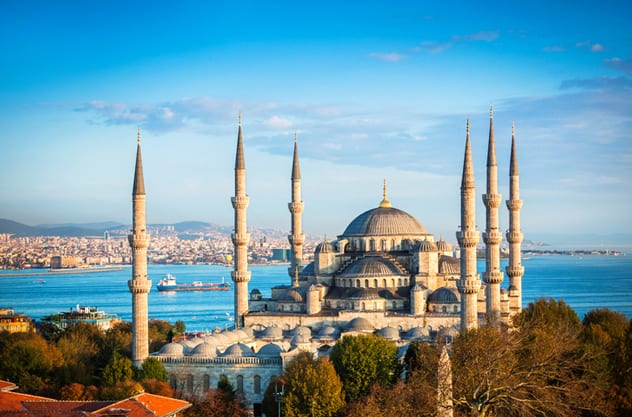 Bursting with culture, food and life, the Turkish city of Istanbul is a must-visit on any Black Sea cruise. ISTOCK