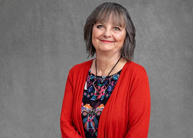 Kathleen Liberty has helped schools implement creative, research-driven strategies to improve the wellbeing of young students suffering trauma as a result of the Canterbury earthquakes. KRISTIAN FRIRES
